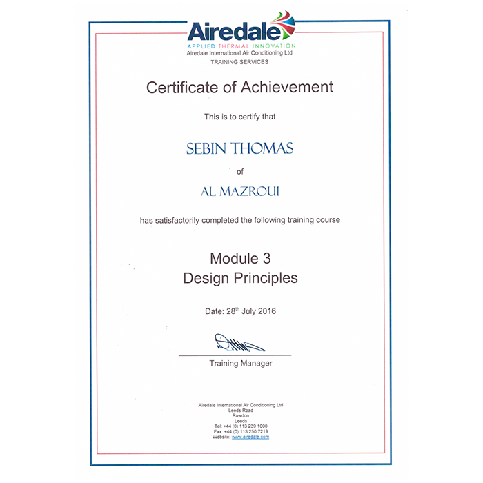 Airedale - Design Principles