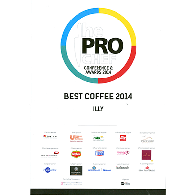 PROCHEF Best Coffee 2014