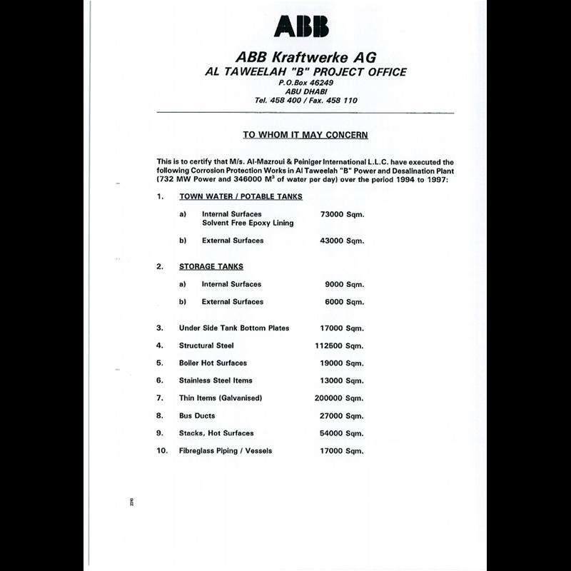 ABB Kraftwerke AG - 1